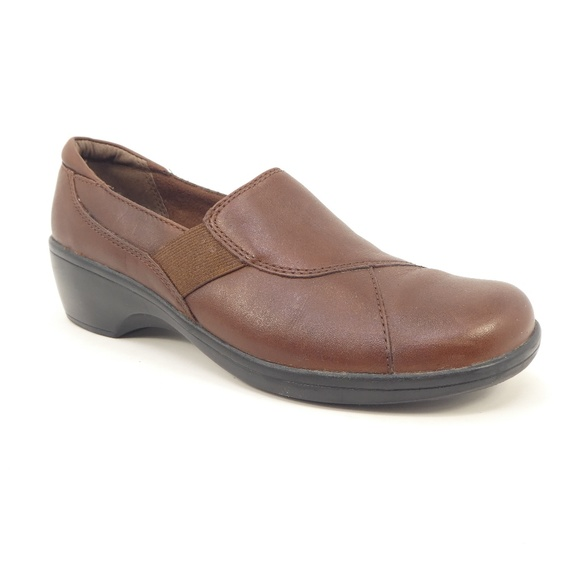 987fab20023 Clarks Shoes - Clarks Bendables Brown Leather Comfort Loafers